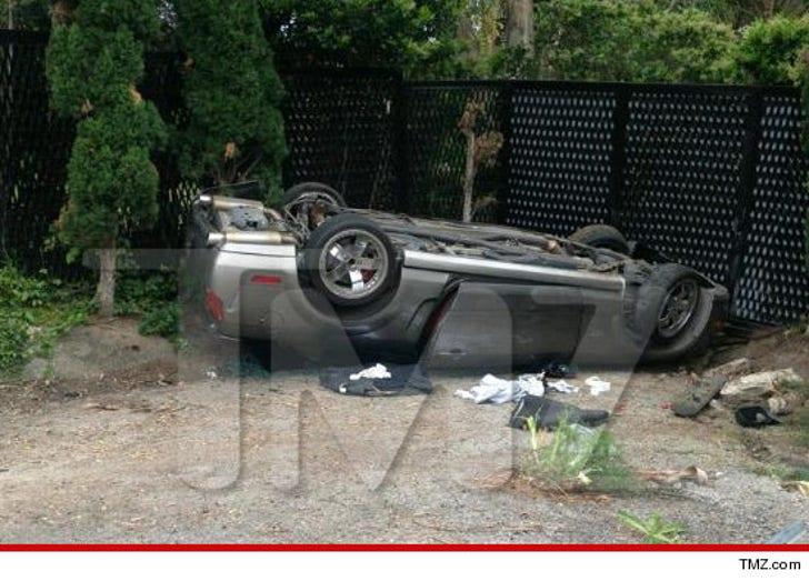 Patrick Dempseys Rescue Car Crash Carnage Photos