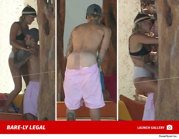 Justin Bieber and Sofia Richie in Cabo