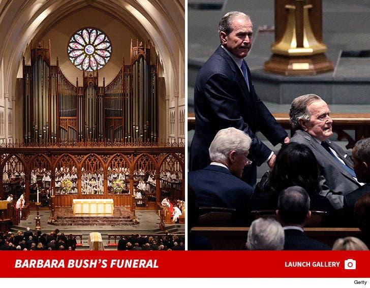 Barbara Bush's Funeral