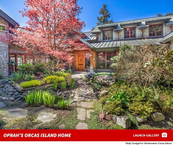Oprah's Orcas Island Home
