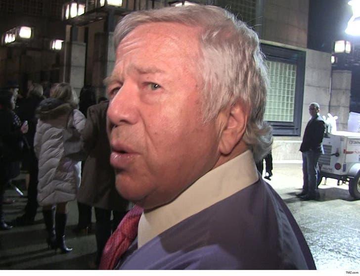 Judge Blocks Robert Kraft Naked Spa Video For Now