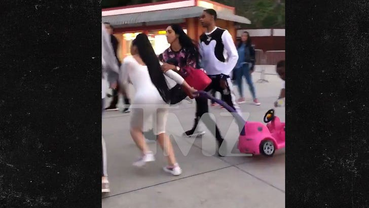 Blac Chyna Loses Stroller Deal After Six Flags Fight