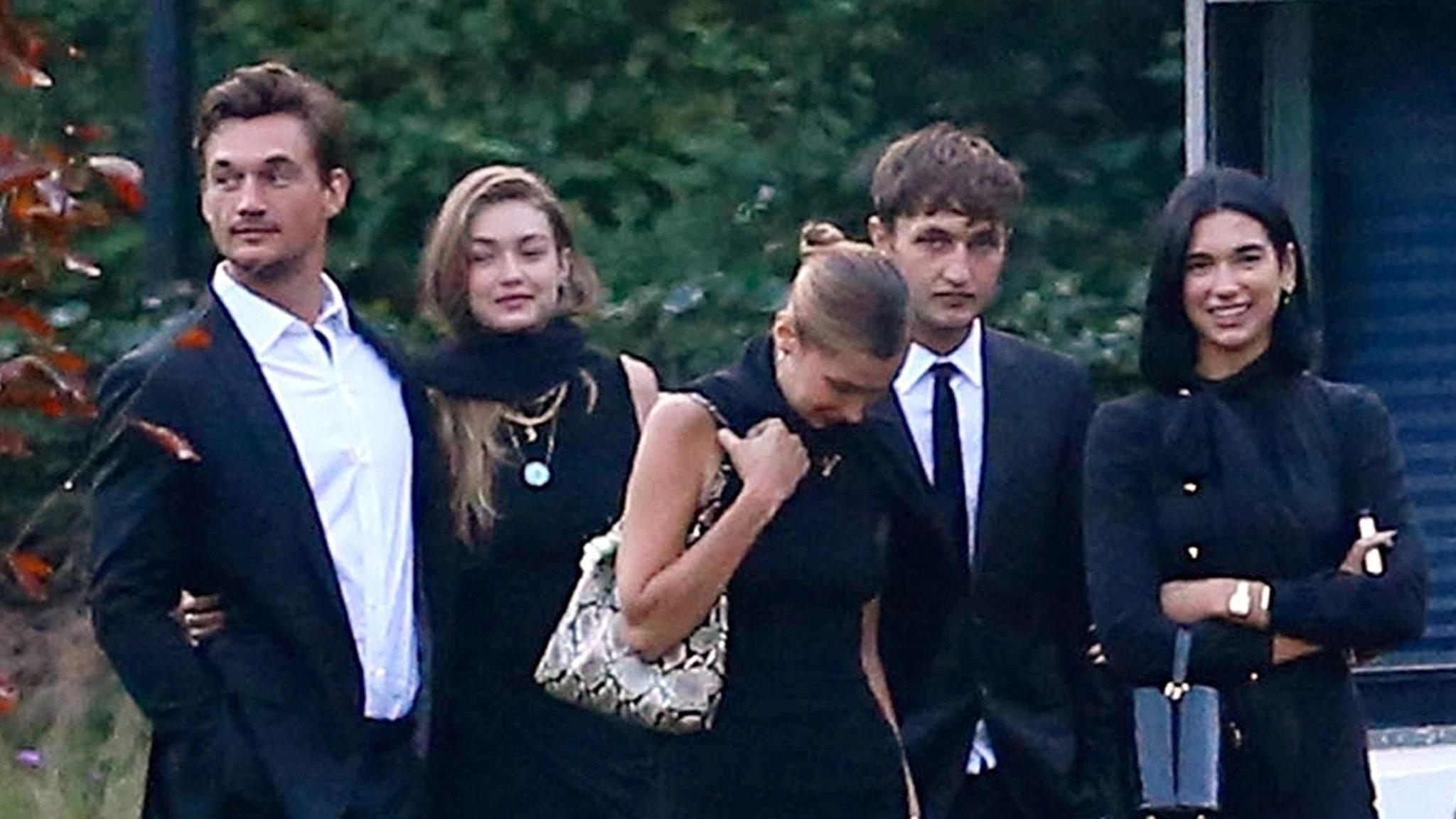 Gigi Hadid Brings Tyler Cameron to Grandmother's Funeral