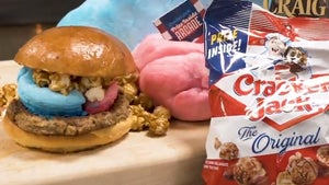 Minor League Baseball Team Selling Cotton Candy & Cracker Jack Burgers, Ew?