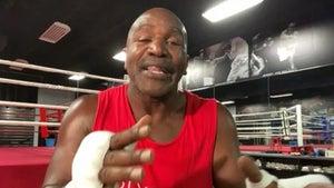 Evander Holyfield Says Brandon Marshall's Intimidating, Hard Hitter In Boxing Ring