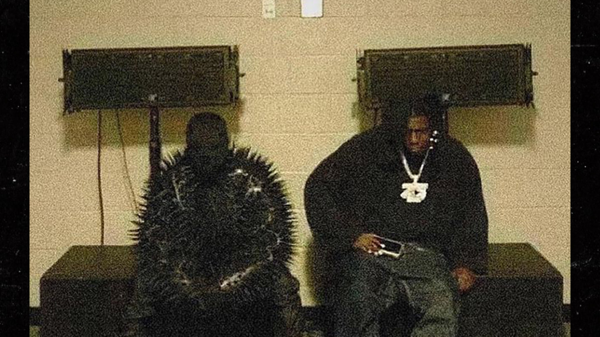 Kanye West Debuts Supervillain Look, Hangs with Lil Yachty in ATL