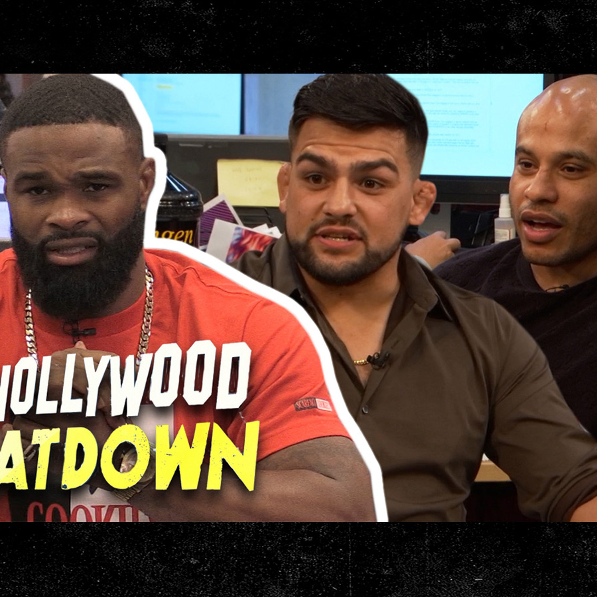 Tyron Woodley Explodes On Kelvin Gastelum, 'I Will F**k You Up Right Now'