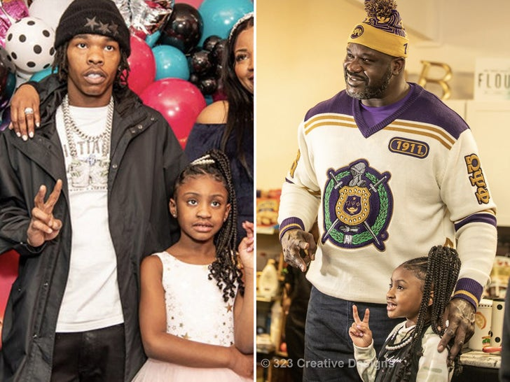 Lil Baby Throws Birthday Party for George Floyd's Daughter