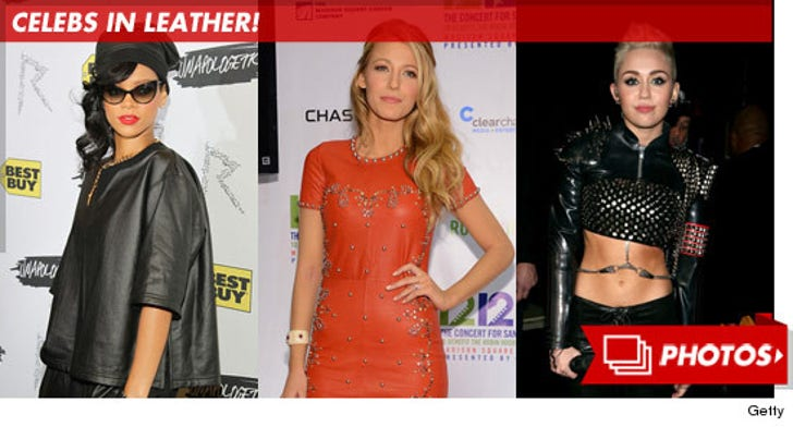 Celebs in Leather