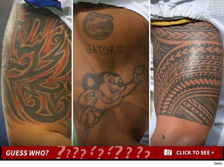 NFL Ink -- Guess Who!