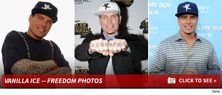 Vanilla Ice -- Freedom Photos