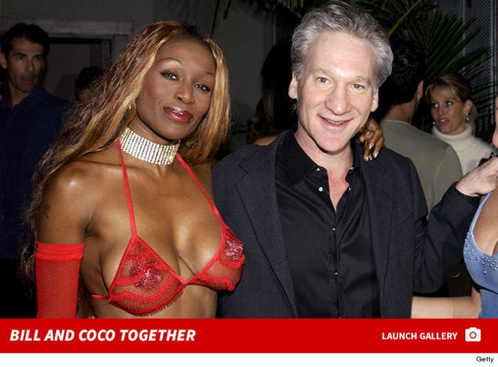 Bill Maher and Coco Johnsen Together