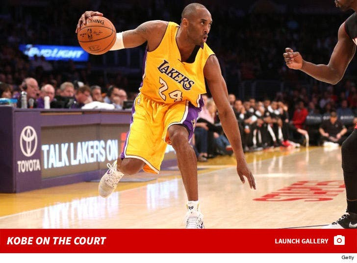 Kobe Bryant On the Lakers