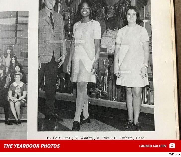 Oprah's High School Yearbook Photos
