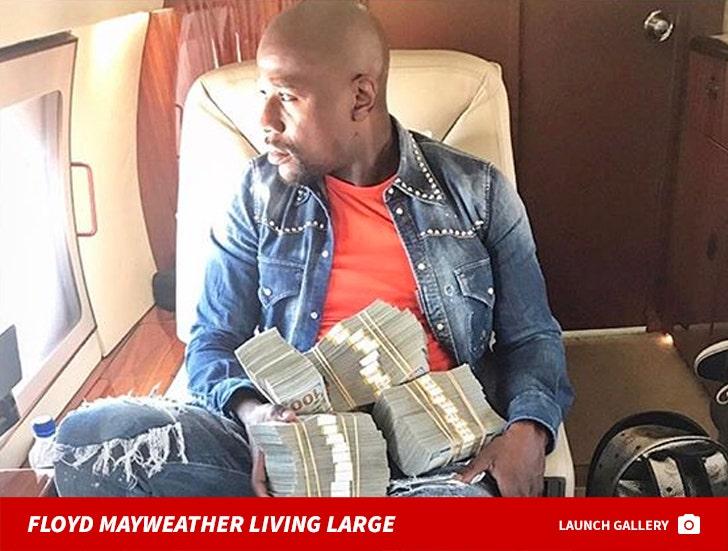 Floyd Mayweather Living Large