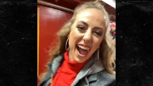 Patrick Mahomes' GF Goes Bonkers After Chiefs Win AFC Championship
