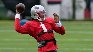 Cam Newton Is #1 In New England, First Practice with Patriots