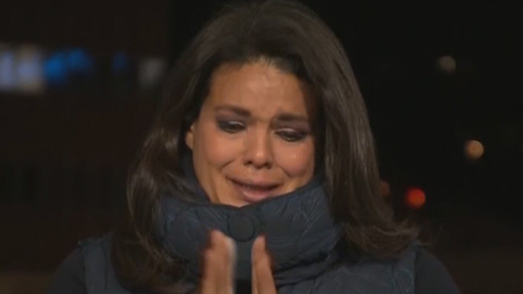 CNN's Sara Sidner Cries on Live TV Covering L.A.'s COVID Death Crisis