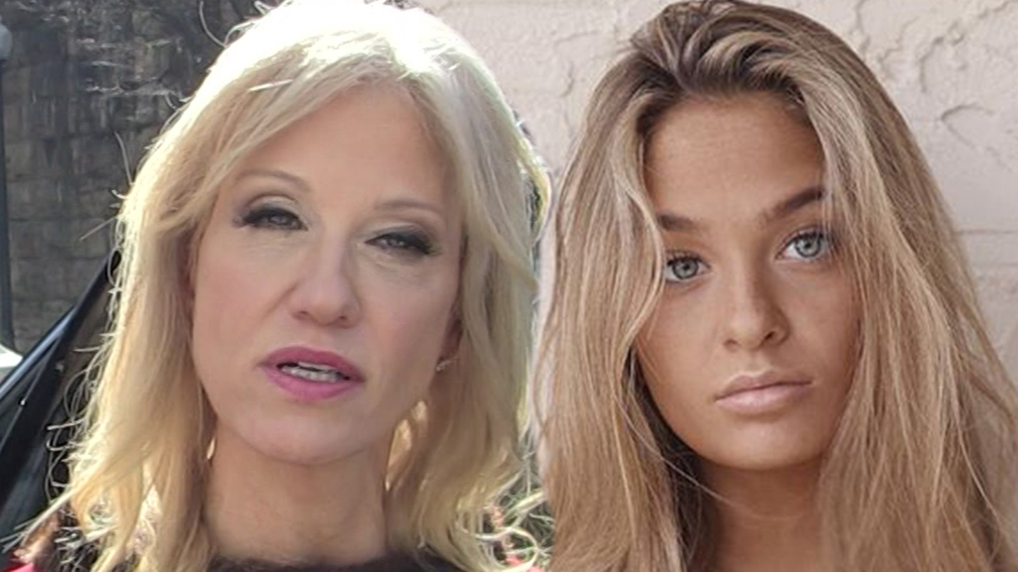Claudia Conway Her Topless Pic Posts on Kellyanne's Twitter ... Teen Says Mom's 'Going to Jail'