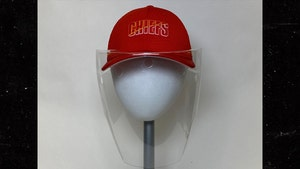 Andy Reid's COVID-19 Face Shield, Hat Get Hall Of Fame Display Treatment