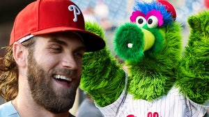 Bryce Harper Rocks Insane Phillie Phanatic Cleats For MLB Opening Day