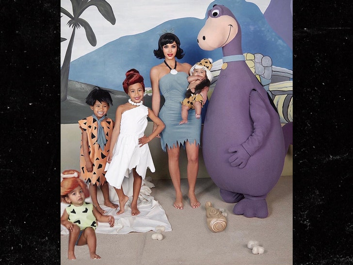 Kim Kardashian Debuts Third Halloween Costume: Meet the 'West Worms'