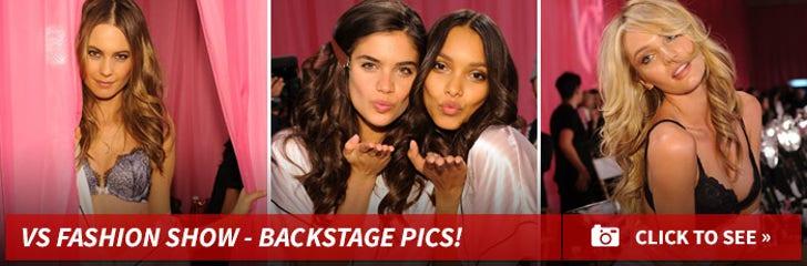 2013 Victoria's Secret Fashion Show -- Backstage Sneak Peek!