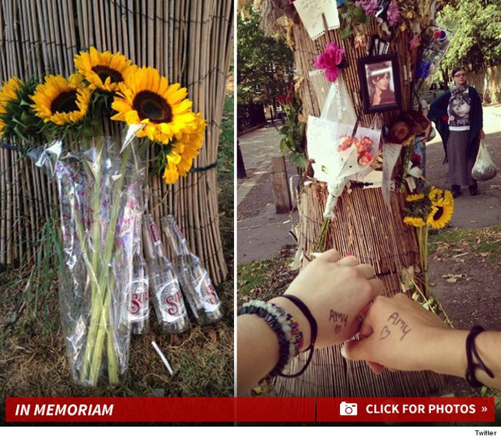 Amy Winehouse's Memorial Location