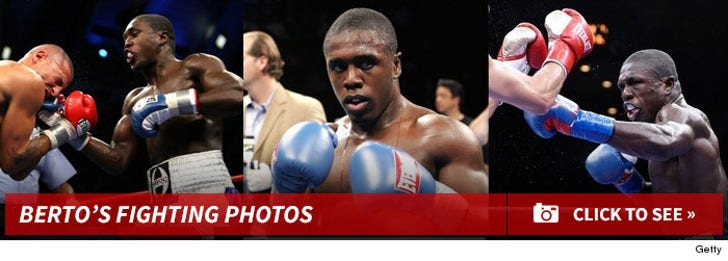 Andre Berto's Fighting Photos