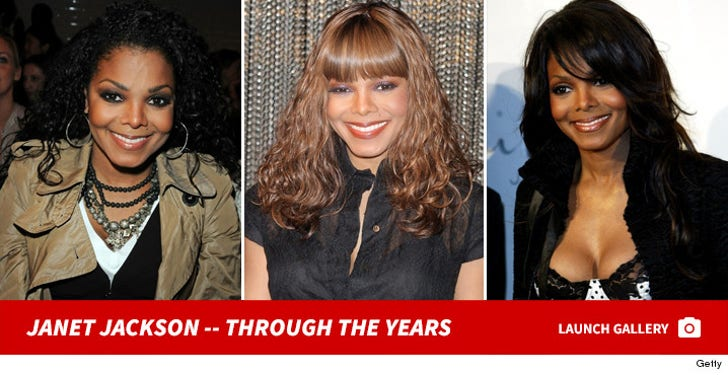 Janet Jackson -- Through the Years