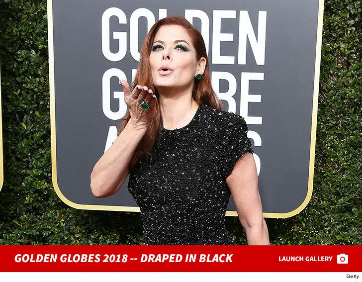 Golden Globes 2018 -- Draped in Black