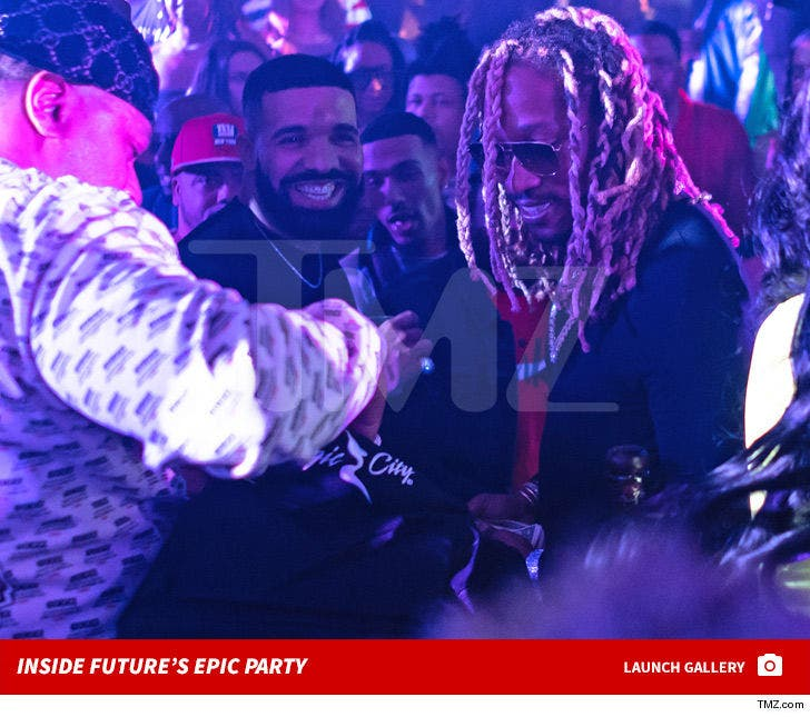 Inside Future's Birthday Party