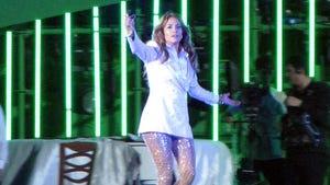 Jennifer Lopez -- Happy Birthday Ambush in Turkmenistan