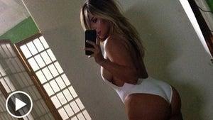 Kim Kardashian's Ass -- Caught in a Giant Coverup
