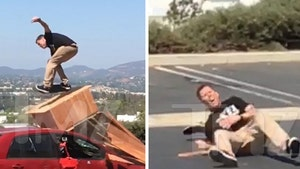 Steve-O -- My Ankle's in Pieces After Porta Potty Crash (VIDEO + PHOTO GALLERY)