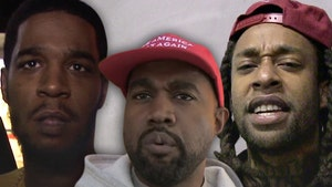 Kanye West, Kid Cudi and Ty Dolla $ign Sued Over 'Kids See Ghosts' Sample