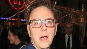 Director James Gunn Using Toilet Paper with 'Guardian' Star's Face