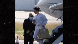Kim Kardashian Back In L.A. Without Kanye After Tense Trip To Wyoming