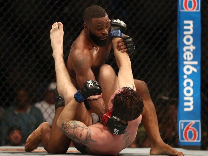 Tyron Woodley Fight Photos