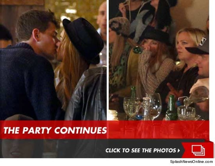 Lindsay Lohan Still Clubbing -- This Time with New Beau