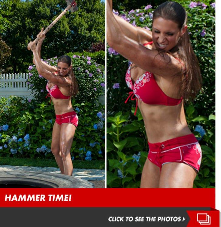 Stephanie McMahon's Sexy Workout Photos