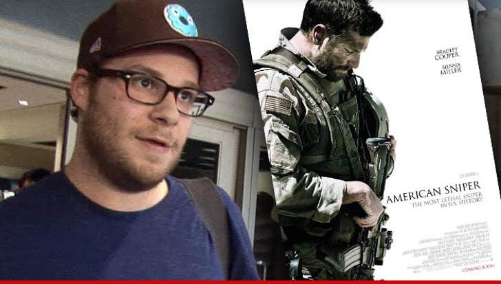Seth Rogen Compares American Sniper To Fake Nazi Propaganda Movie