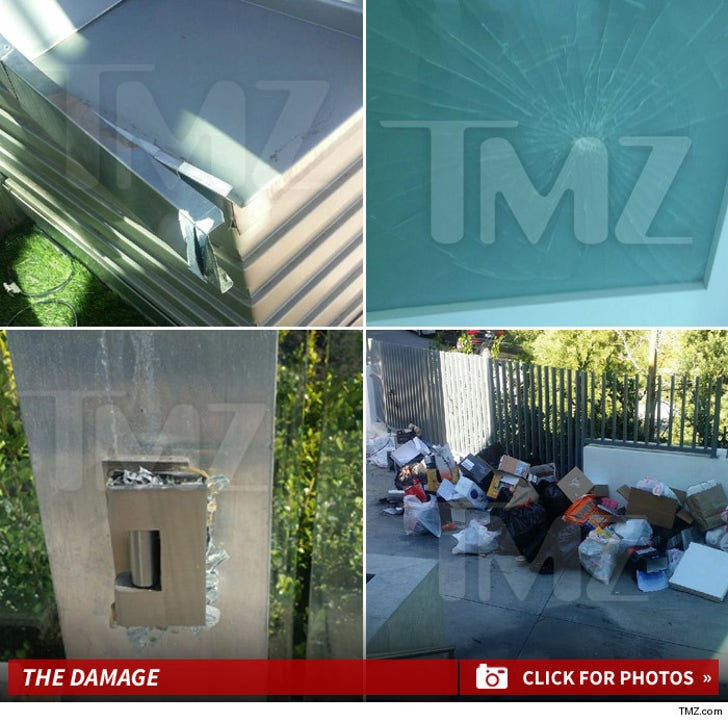 Meek Mills' House Party Damage