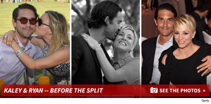 Kaley Cuoco & Ryan Sweeting -- Before the Split