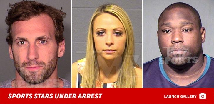 Sports Stars Under Arrest