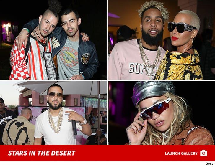 Celebrities at Coachella - Day 1