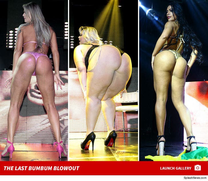 Miss BumBum Goes Out in Blowout Fight