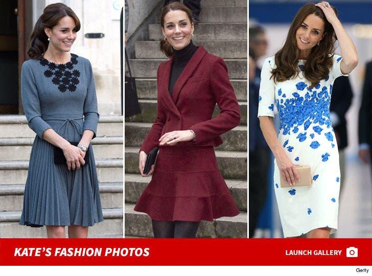 Kate Middleton's Fashion Photos