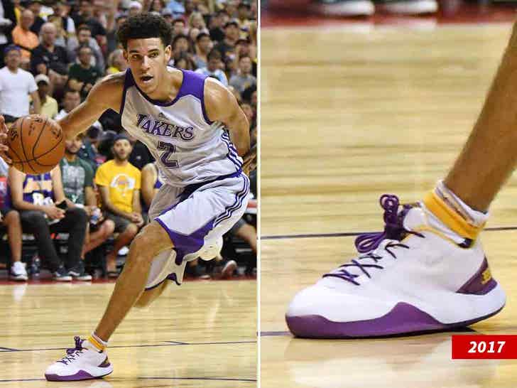 Lonzo Ball Admits Bbb Shoes Were Defective They Exploded