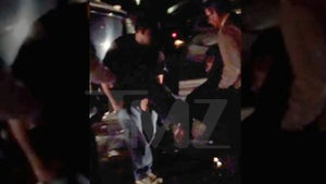 Tracy Morgan Crash Scene -- VIDEO Shot Moments After Crash ... Panic in the Streets